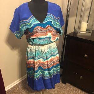 Trina Turk Silk Dress size 2